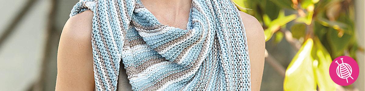 Bari sjaal breipatroon