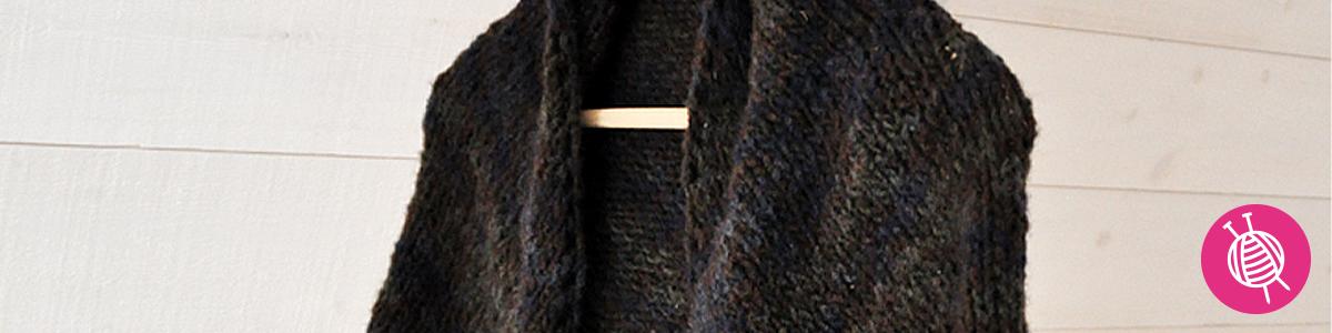 Sjaal breien met Lana Grossa Nordico