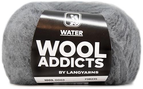 Wooladdicts To-Ease-Sorrow Trui Breipakket 1 XL Light Grey