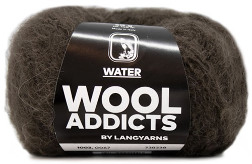 Wooladdicts To-Ease-Sorrow Trui Breipakket 10 S Dark Brown