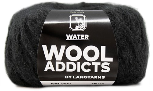 Wooladdicts To-Ease-Sorrow Trui Breipakket 11 M Anthracite
