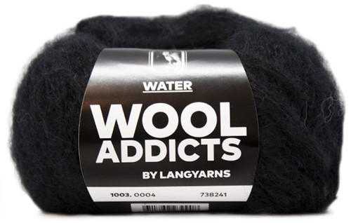 Wooladdicts To-Ease-Sorrow Trui Breipakket 2 XL Black