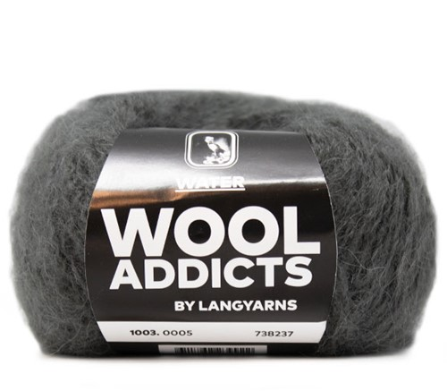 Wooladdicts To-Ease-Sorrow Trui Breipakket 3 M Grey
