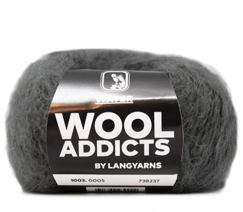 Wooladdicts To-Ease-Sorrow Trui Breipakket 3 L Grey
