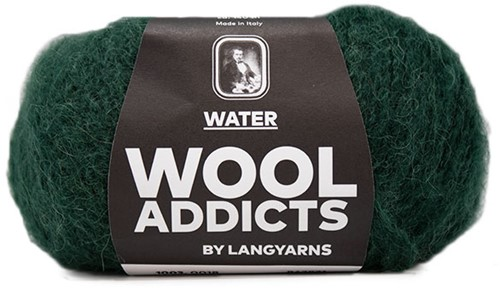 Wooladdicts To-Ease-Sorrow Trui Breipakket 6 XL Moss