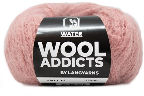Wooladdicts To-Ease-Sorrow Trui Breipakket 7 XL Pink