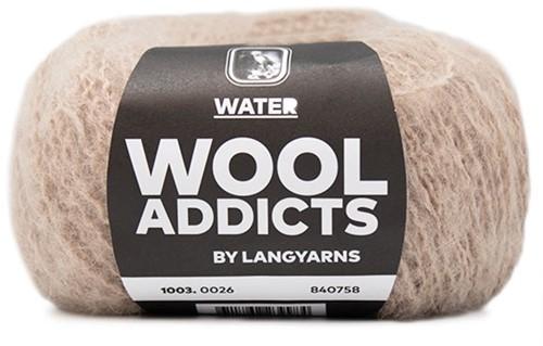 Wooladdicts To-Ease-Sorrow Trui Breipakket 8 XL Beige