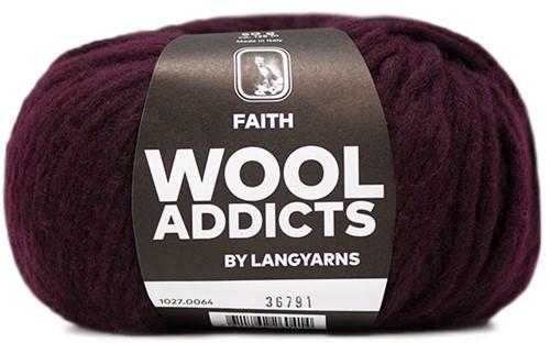 Wooladdicts Wild Wandress Trui Breipakket 7 XL Sunset