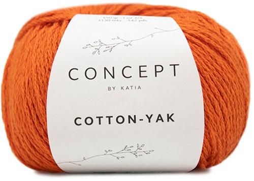 Katia Cotton-Yak 120 Deep orange
