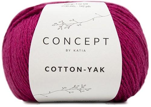 Katia Cotton-Yak 121 Fuchsia