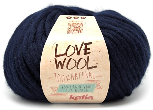 Katia Love Wool 121 Dark blue