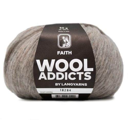 Wooladdicts Unique Mosaic Sjaal Haakpakket 11 Sand