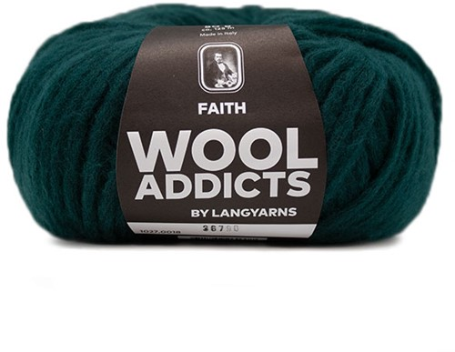 Wooladdicts Unique Mosaic Sjaal Haakpakket 5 Moss Mélange