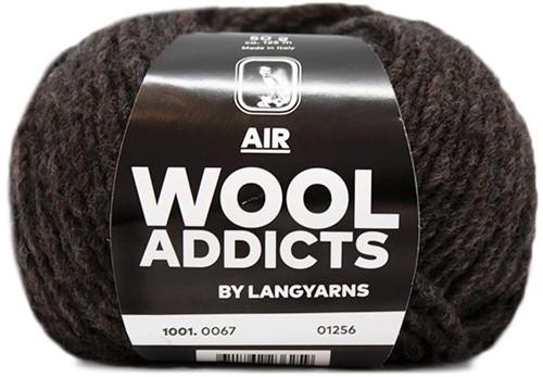 Wooladdicts City Life Trui Breipakket 10 M Dark Brown