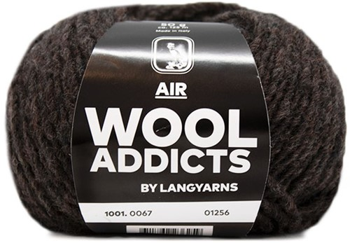 Wooladdicts City Life Trui Breipakket 10 L Dark Brown