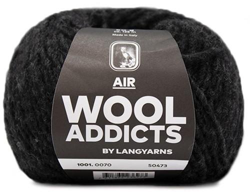 Wooladdicts City Life Trui Breipakket 11 XL Anthracite