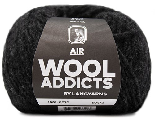 Wooladdicts City Life Trui Breipakket 11 M Anthracite