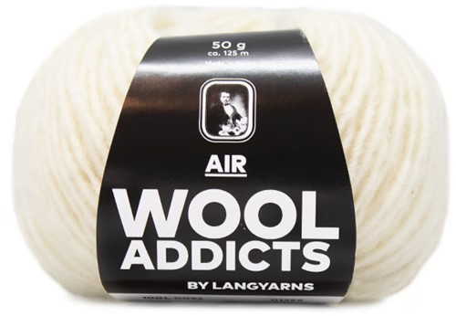 Wooladdicts City Life Trui Breipakket 13 XL Off-White