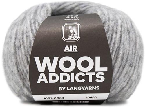 Wooladdicts City Life Trui Breipakket 1 S Light Grey Mélange