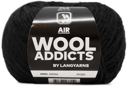 Wooladdicts City Life Trui Breipakket 2 XL Black