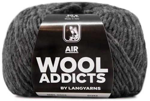 Wooladdicts City Life Trui Breipakket 3 L Grey Mélange