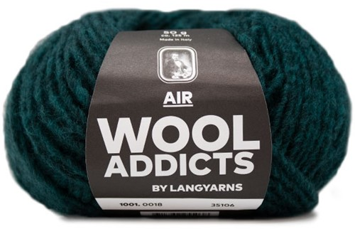 Wooladdicts City Life Trui Breipakket 6 XL Moss Mélange