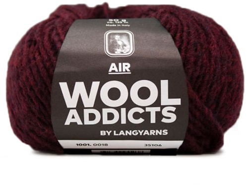 Wooladdicts City Life Trui Breipakket 9 XL Sunset