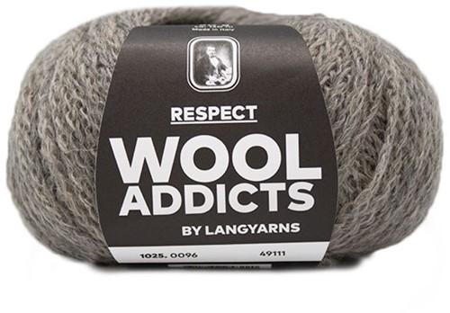 Wooladdicts Seductive Secret Vest Breipakket 11 M Sand