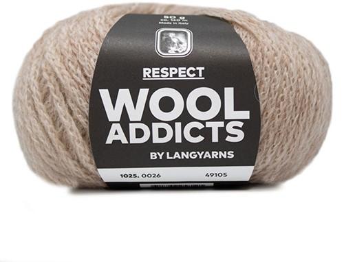 Wooladdicts Seductive Secret Vest Breipakket 6 M Beige