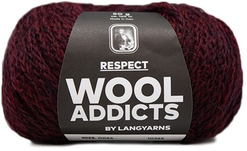 Wooladdicts Seductive Secret Vest Breipakket 7 M Sunset