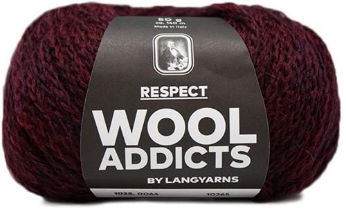 Wooladdicts Seductive Secret Vest Breipakket 7 L Sunset