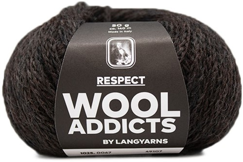 Wooladdicts Seductive Secret Vest Breipakket 8 M Dark Brown