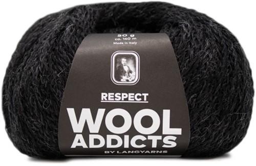 Wooladdicts Seductive Secret Vest Breipakket 9 L Anthracite