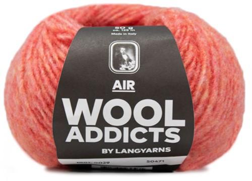 Wooladdicts Dramatic Dreamer Trui Breipakket 8 XL Melon