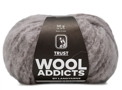 Wooladdicts Devoted Dancer Trui Breipakket 1 S/M Light Grey Mélange