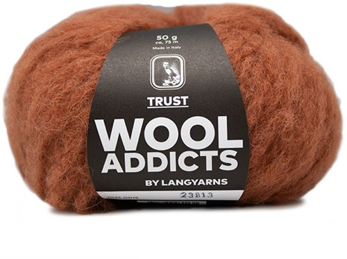 Wooladdicts Devoted Dancer Trui Breipakket 4 L/XL Amber Mélange