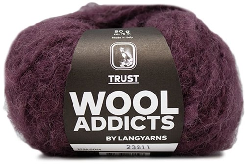 Wooladdicts Devoted Dancer Trui Breipakket 7 L/XL Sunset