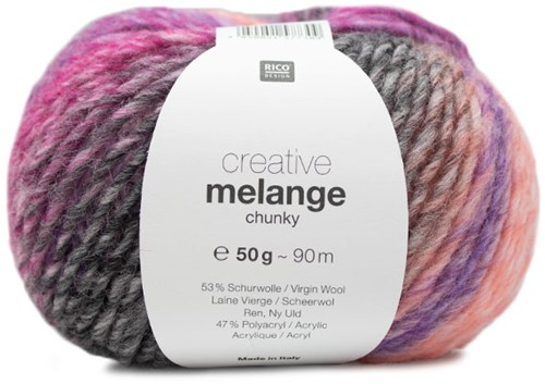 Creative Melange Chunky Trui Breipakket 1 44/46 Lila-Pink