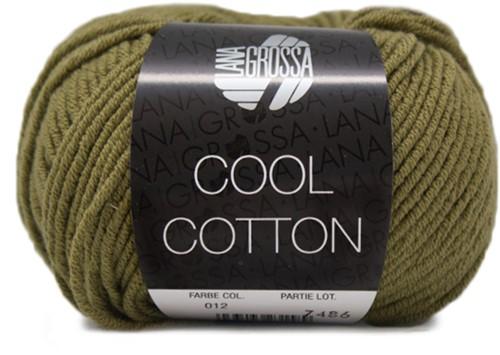 Lana Grossa Cool Cotton 12 Olive