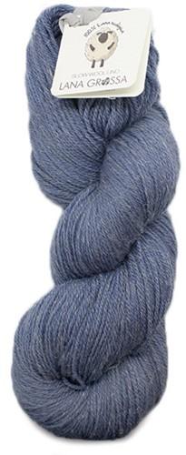 Lana Grossa Slow Wool Lino 012 Medium Blue