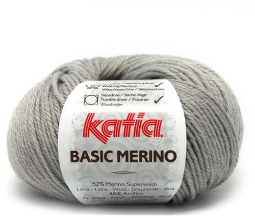 Katia Basic Merino 12 Grey