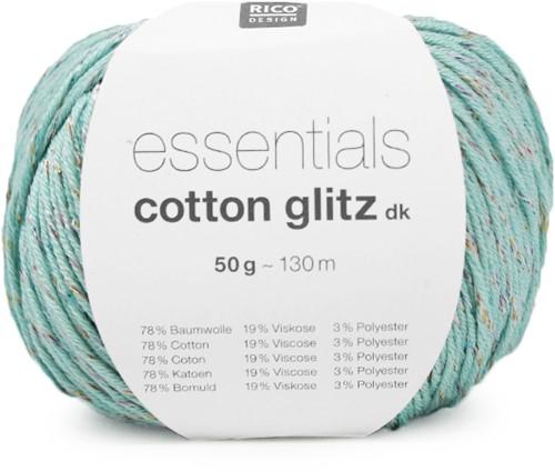 Rico Essentials Cotton Glitz DK 12 Mint