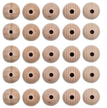 Houten Kralen Set 25 Stuks 12 mm