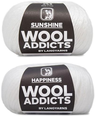 Wooladdicts Empty Promise Tas Breipakket 1 White