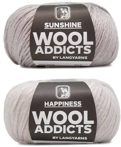 Wooladdicts Empty Promise Tas Breipakket 3 Silver