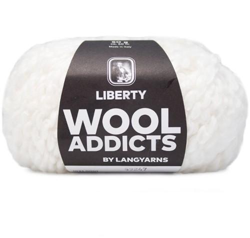 Wooladdicts Fuzzy Feeling Trui Breipakket 1 S White