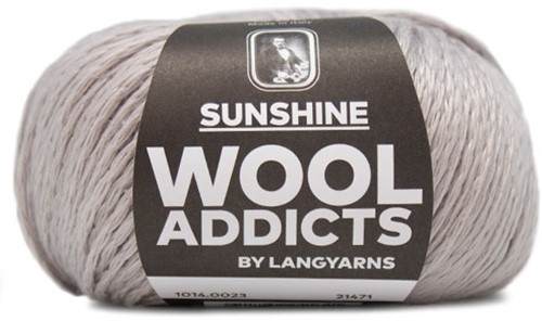 Wooladdicts Perfect Puzzle T-Shirt Haakpakket 3 L Silver