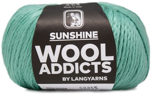 Wooladdicts Crazy Cables Trui Breipakket 6 XL Mint