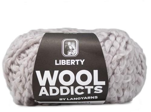 Wooladdicts Kind Knitter Driehoek Sjaal Breipakket 3 Silver