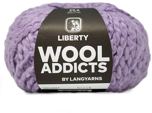 Wooladdicts Better Beloved Vest Breipakket 2 XL Lilac